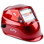 Маска сварщика хамелеон RedVerg RD-WM 605 (красный) (АСФ600GR)