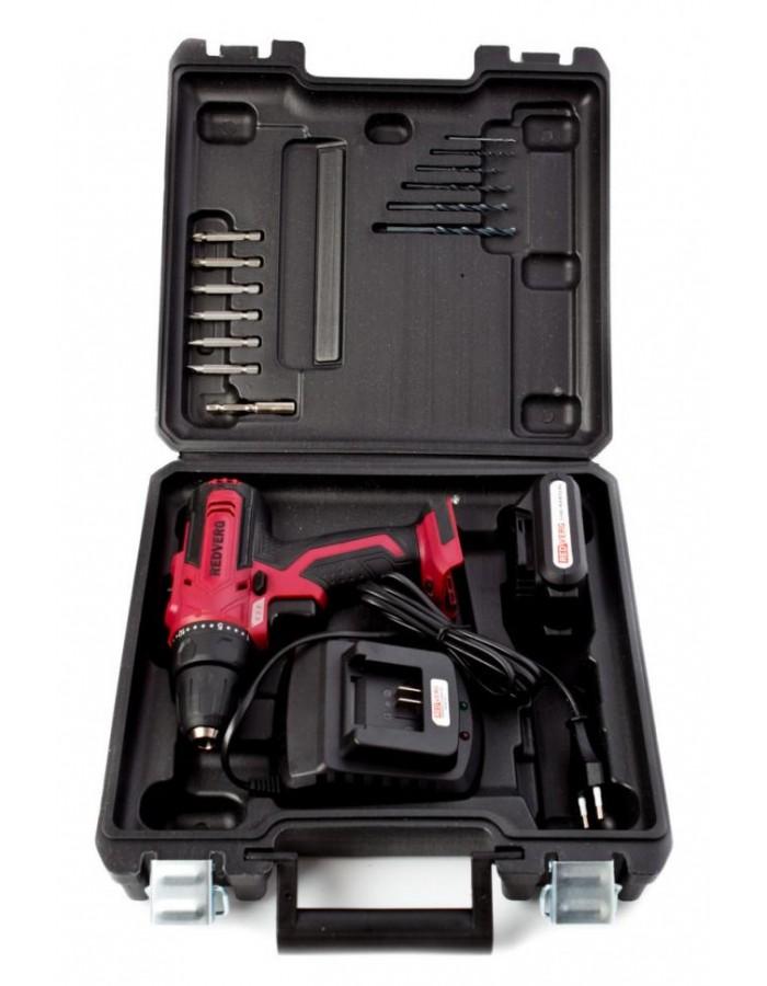 Шуруповерт аккумуляторный RedVerg RD-SD14L/2Y