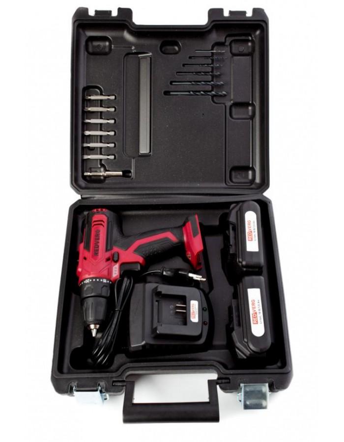 Шуруповерт аккумуляторный RedVerg RD-SD18L/2Y