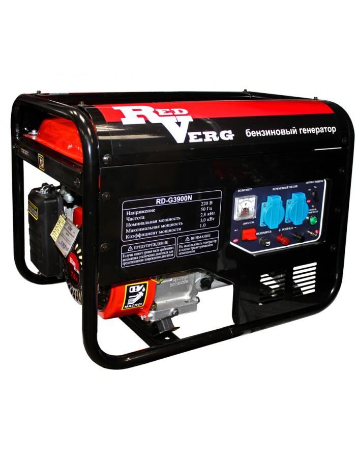 Генератор бензиновый RedVerg RD-G3900N
