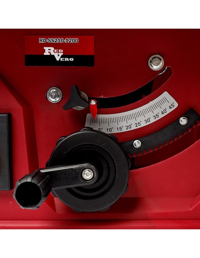 Пила циркулярная настольная RedVerg RD-SS210-1200