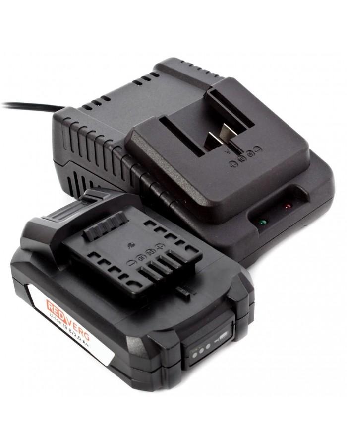 Шуруповерт аккумуляторный ударный RedVerg RD-ISD18V