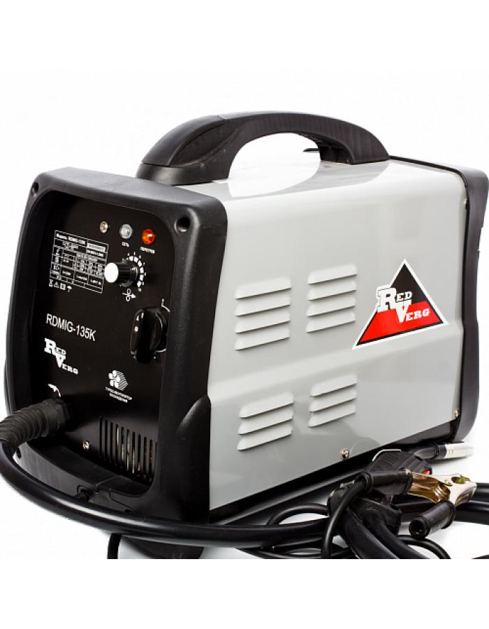 Аппарат сварочный RedVerg RDMIG-135K полуавтомат