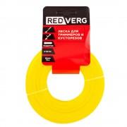 Леска для триммера RedVerg д 3,0мм (15м) квадратная