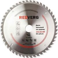 Диск пильный по дереву RedVerg твердосплавный 235х30 мм, 48 зубьев(800251)