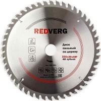 Диск пильный по дереву RedVerg твердосплавный 255х30 мм, 48 зубьев(800291)