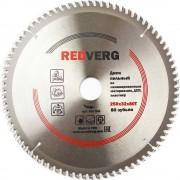 Диск пильный по ламинату RedVerg твердосплавный 250х32/30 мм, 80 зубьев(800541)